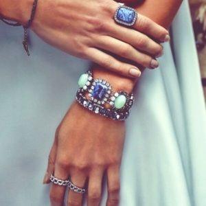 Tangier statement bracelet
